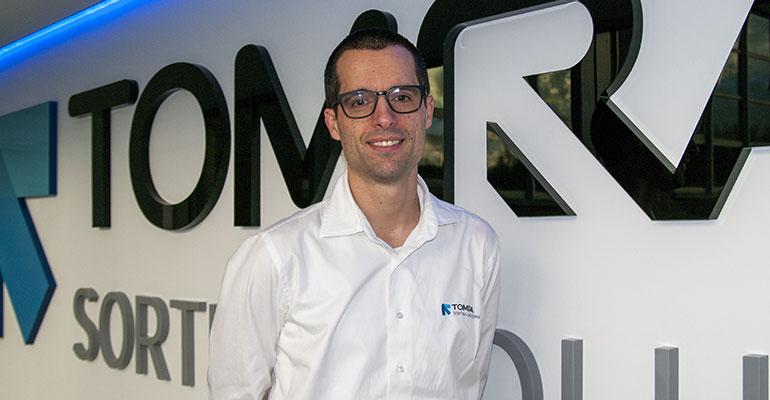 Bjorn Thumas, Director de Desarrollo comercial de alimentos de Tomra Food