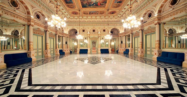 Interior del Gran Teatre del Liceu de Barcelona