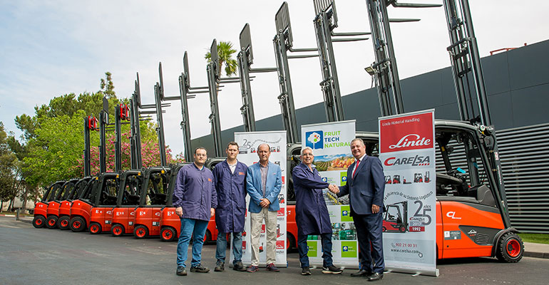 Linde MH y Fruit Tech Natural