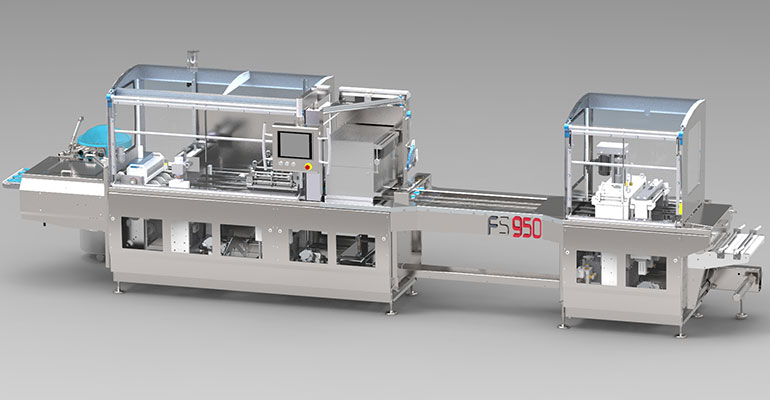 máquina termoformadora FS 950
