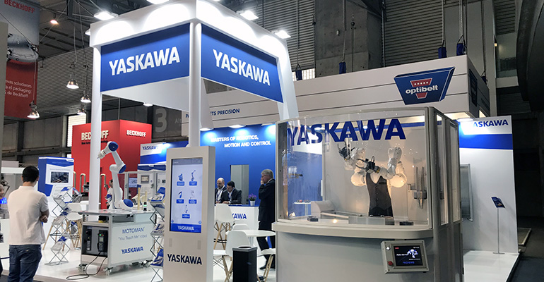 Stand de Yaskawa en Hispack 2018