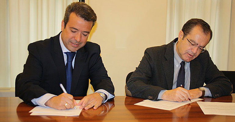 Firma del convenio entre Aenor y el CTC