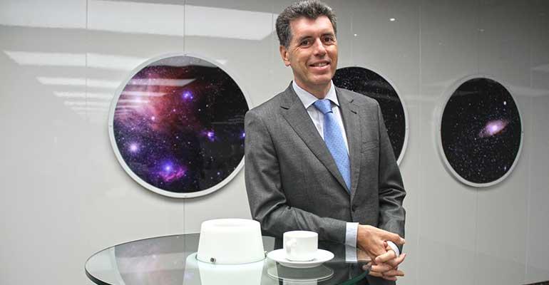 Alejandro García, presidente de Aspack