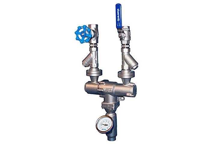 Mezclador agua-vapor CSF