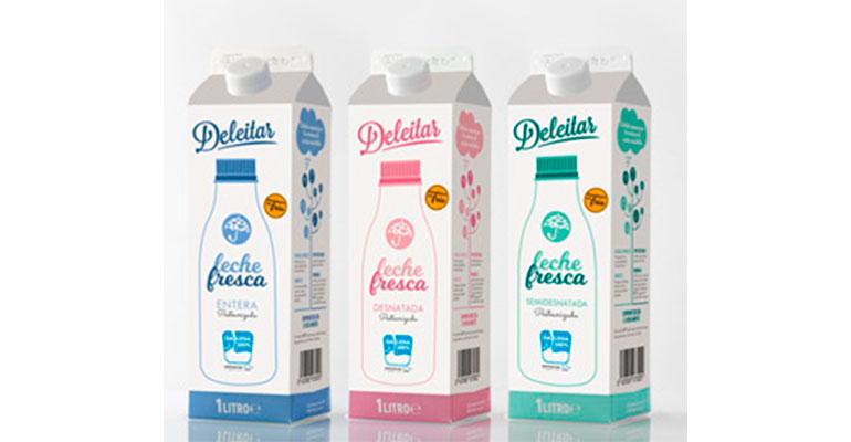 Envases Tetra Rex para la marca ´Deleitar´ de Dairylac