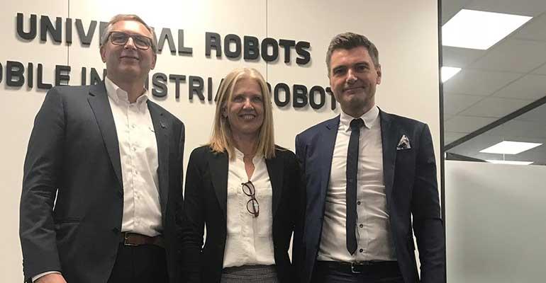 'hub' de robótica colaborativa