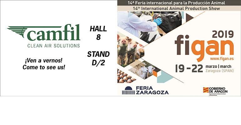 Camfil participa en FIGAN 2019